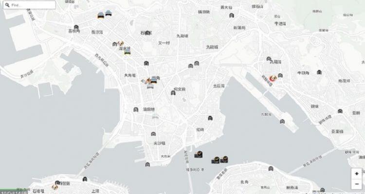 Apple hkmap.live