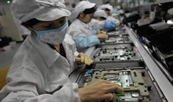 Çin İhracatındaki Düşüş Elektronik Komponenti de etkiledi